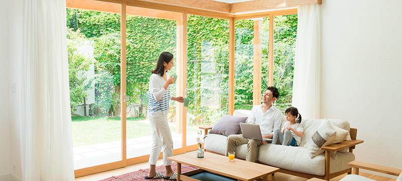 健康と安心のウッドハウスの家
